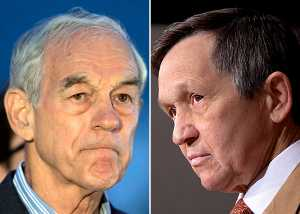 Ron Paul and Dennis Kucinich