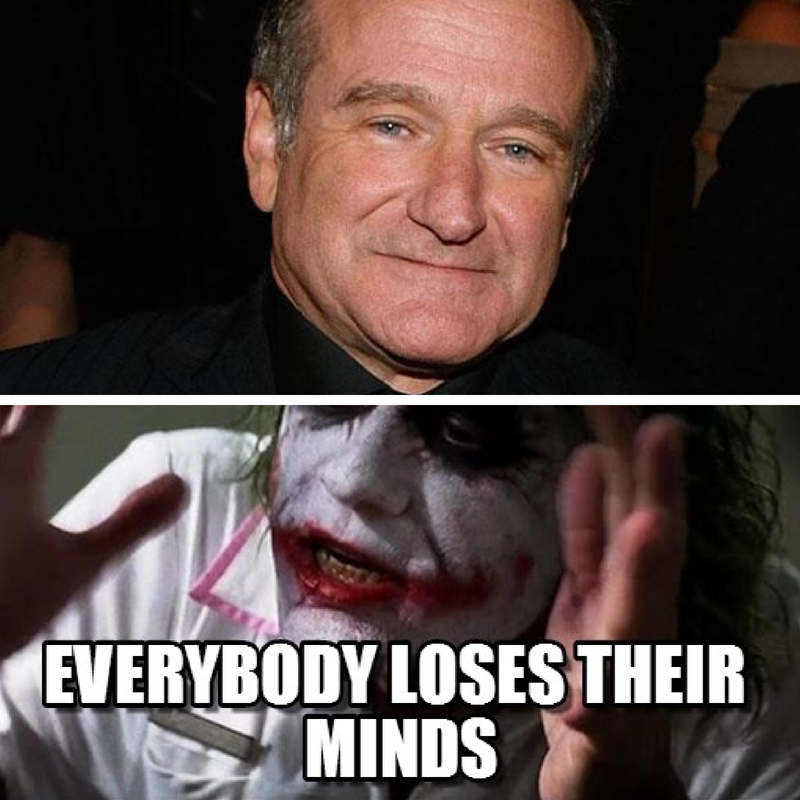 Thoughts on Robin Williams, Libertarians, and Losing Your Mind