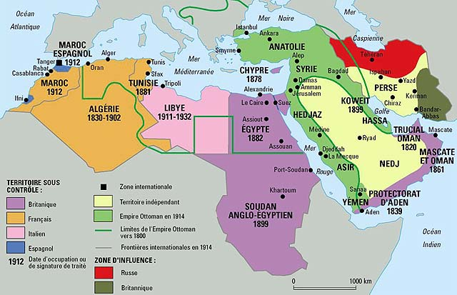 Middle East Timeline, According to Me.