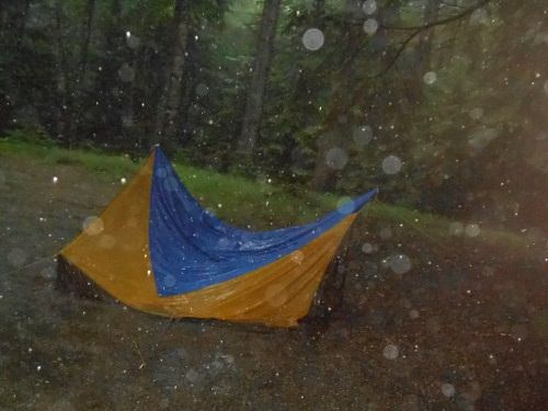 A WASHOUT! Misadventures at Dolly Copp Campground