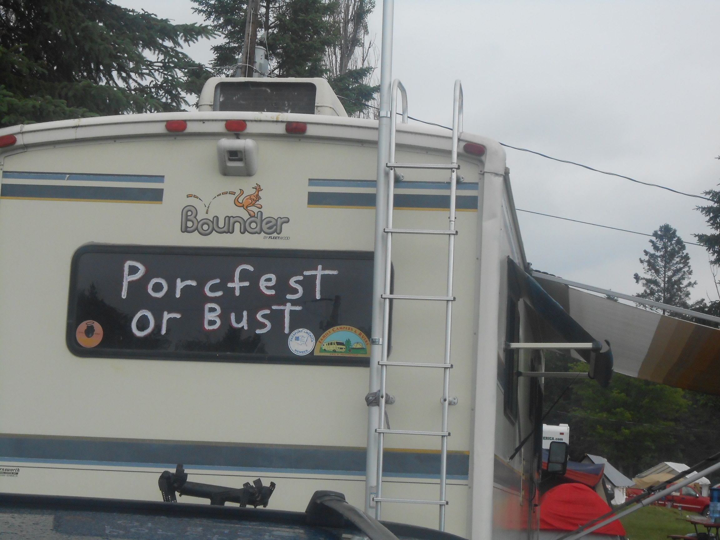 The Difference Between PorcFest And the Town Fair
