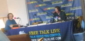 Darryl Perry interviewing Ernest Hancock