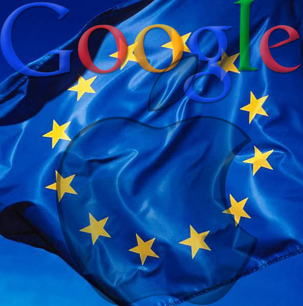 EU tackles down on Apple and Google