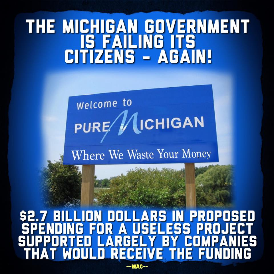 Michigan's Proposal 1 Would Waste More Taxpayer Money