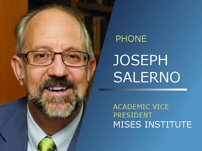 Joseph Salerno   CNBC Debate / Sweden's War on Cash