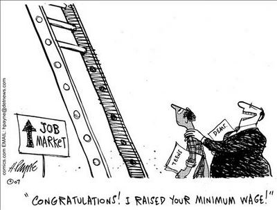 minimum wage cartoon