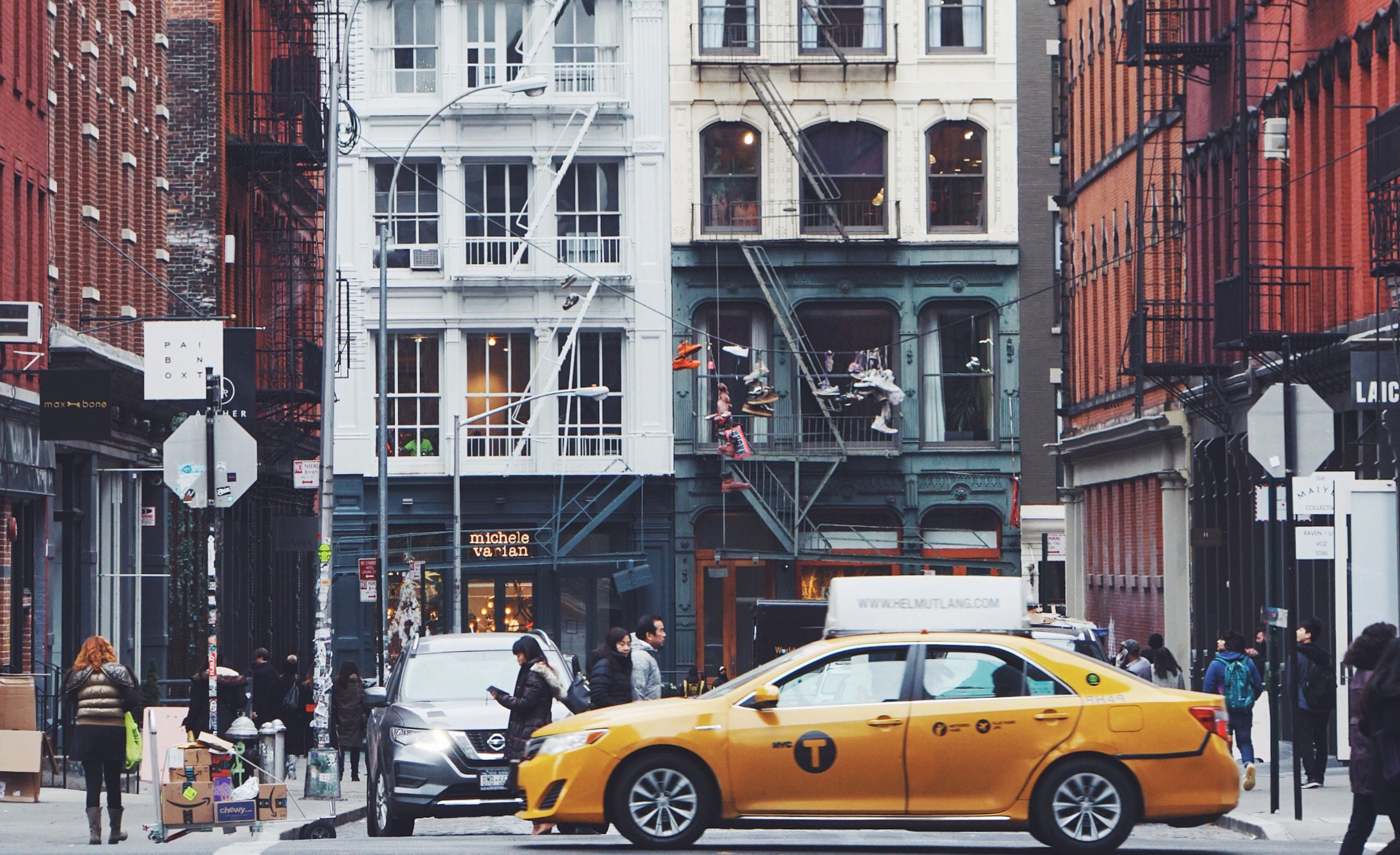 Taxi Cab in SoHO