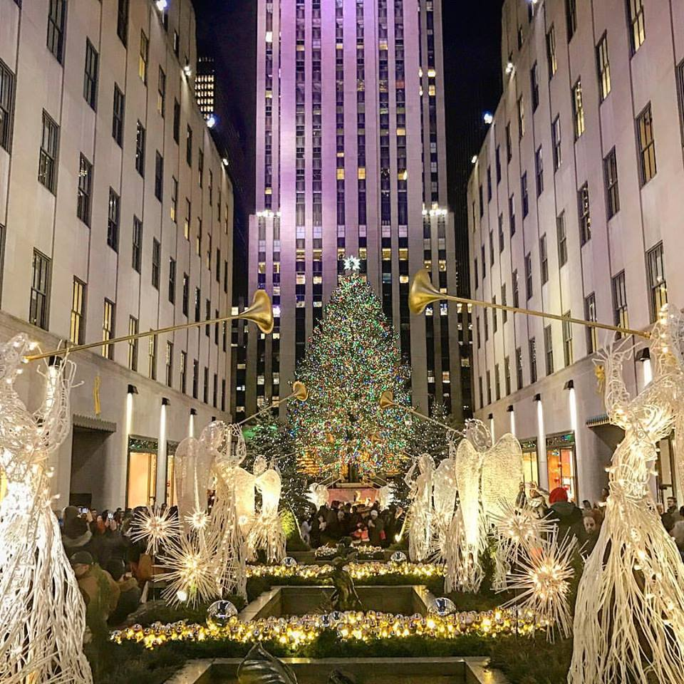 Radio City Christmas Tree