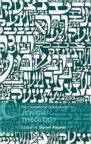 Book cover: The Cambridge Companion to Jewish Theology, edited by Steven Kepnes