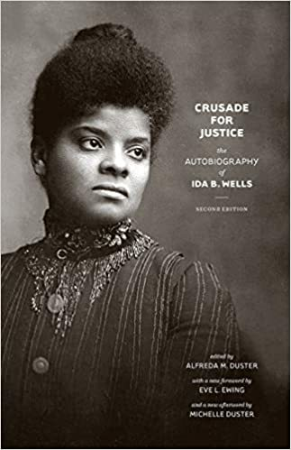 Book cover: Crusade for Justice : the autobiography of Ida B. Wells, by Ida B. Wells