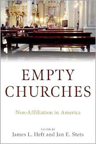 Book cover: Empty churches : non-affiliation in America edited by James L. Heft, S. M., and Jan E. Stets
