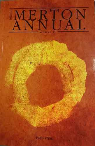 Book cover: The Merton Annual, Volume 31