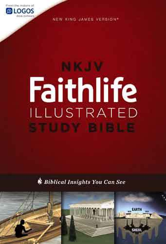 Book cover: NKJV Faithlife illustrated study Bible : biblical insights you can see / general editor, John D. Barry