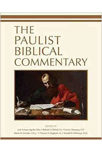 Book cover: The Paulist Biblical Commentary