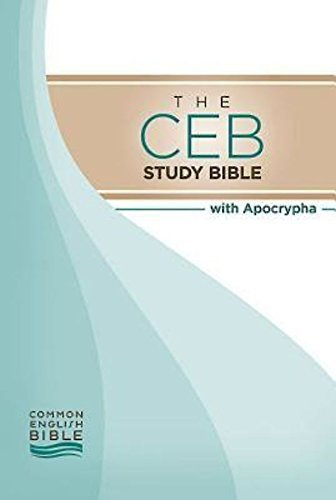 Book cover: CEB [Common English Bible] Study Bible with Apocrypha