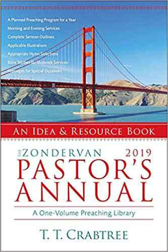 Book cover: The Zondervan pastor's annual