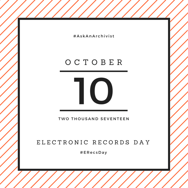 Electronic Records Day graphic