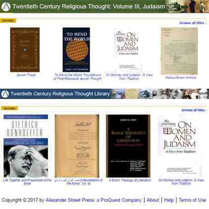 graphic for Twentieth Century Religious Thought Library and Twentieth Century Religious Thought, Volume 3: Judaism