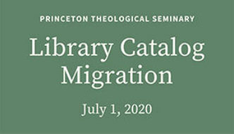 Library Catalog Migration