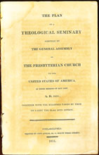 Click to read 'The Plan of the Theological Seminary...' adopted in 1811