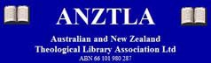 Australian and New Zealand Theological Library Association Limited logo