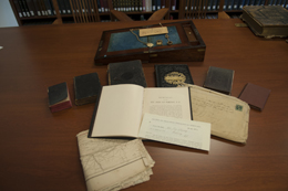 Items from the collection of John Pomeroy, PTS Class of 1861 and Civil War chaplain