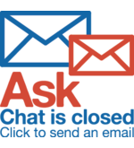 Chat is offline click to send email