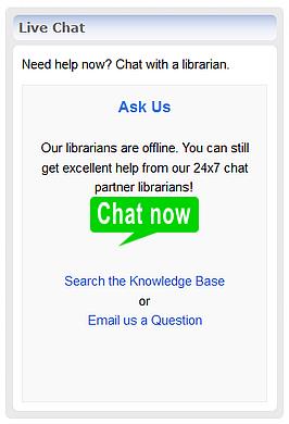 Chatstaff LibChat widget
