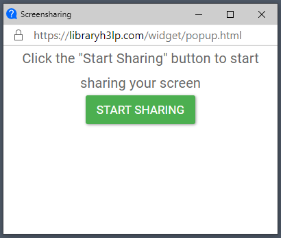 Embedded chat box prompt