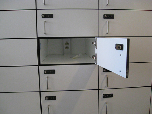 First floor locker