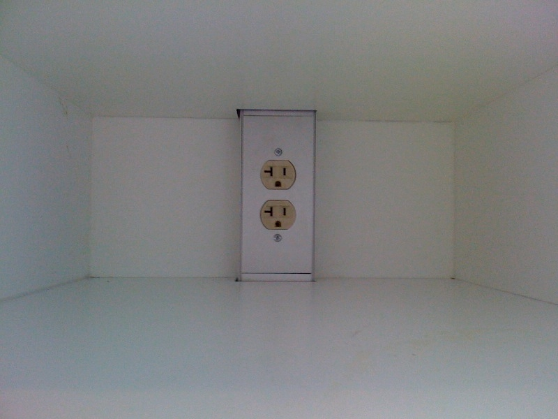 Outlets in lockers