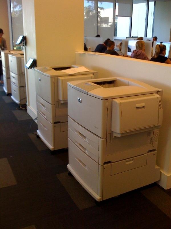 WHH InfoCommons printers image