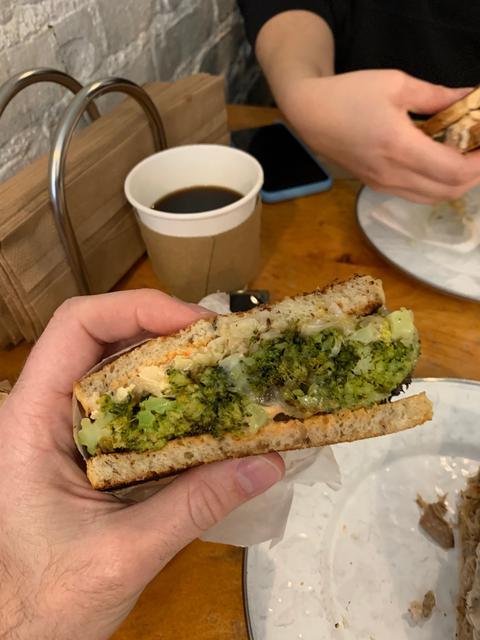 Broccoli reuben