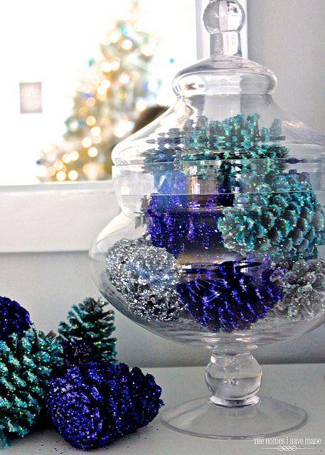 6. Pinecone Ornaments | Easy DIY Christmas Ideas | Life360 Tips