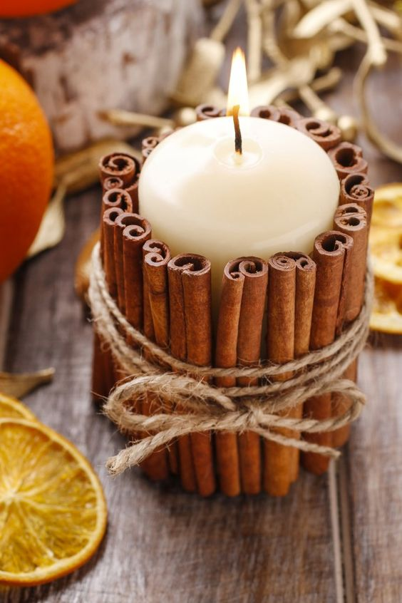 3. Scented Candles | Easy DIY Christmas Ideas | Life360 Tips