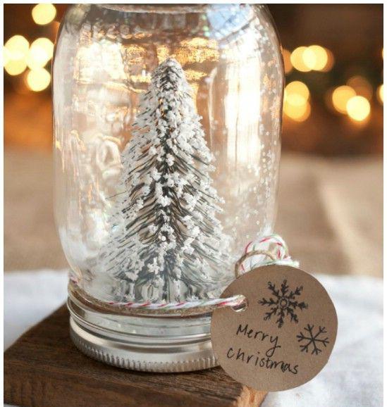 1. Homemade Snow Globes | Easy DIY Christmas Ideas | Life360 Tips