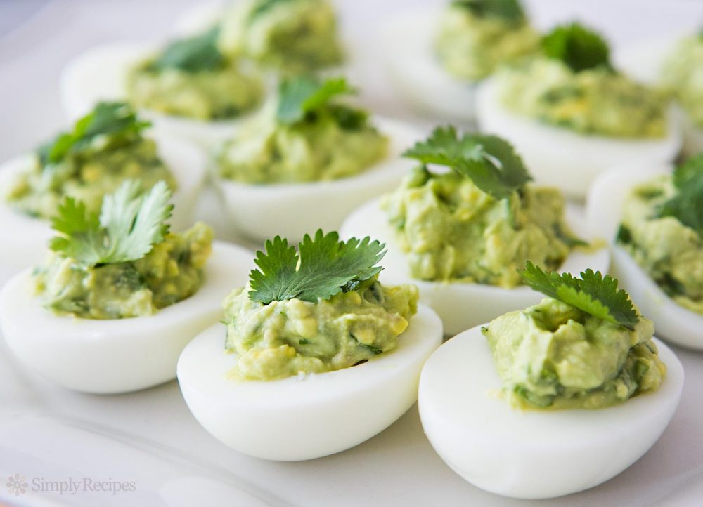 Avocado Deviled Eggs | Life 360 Tips