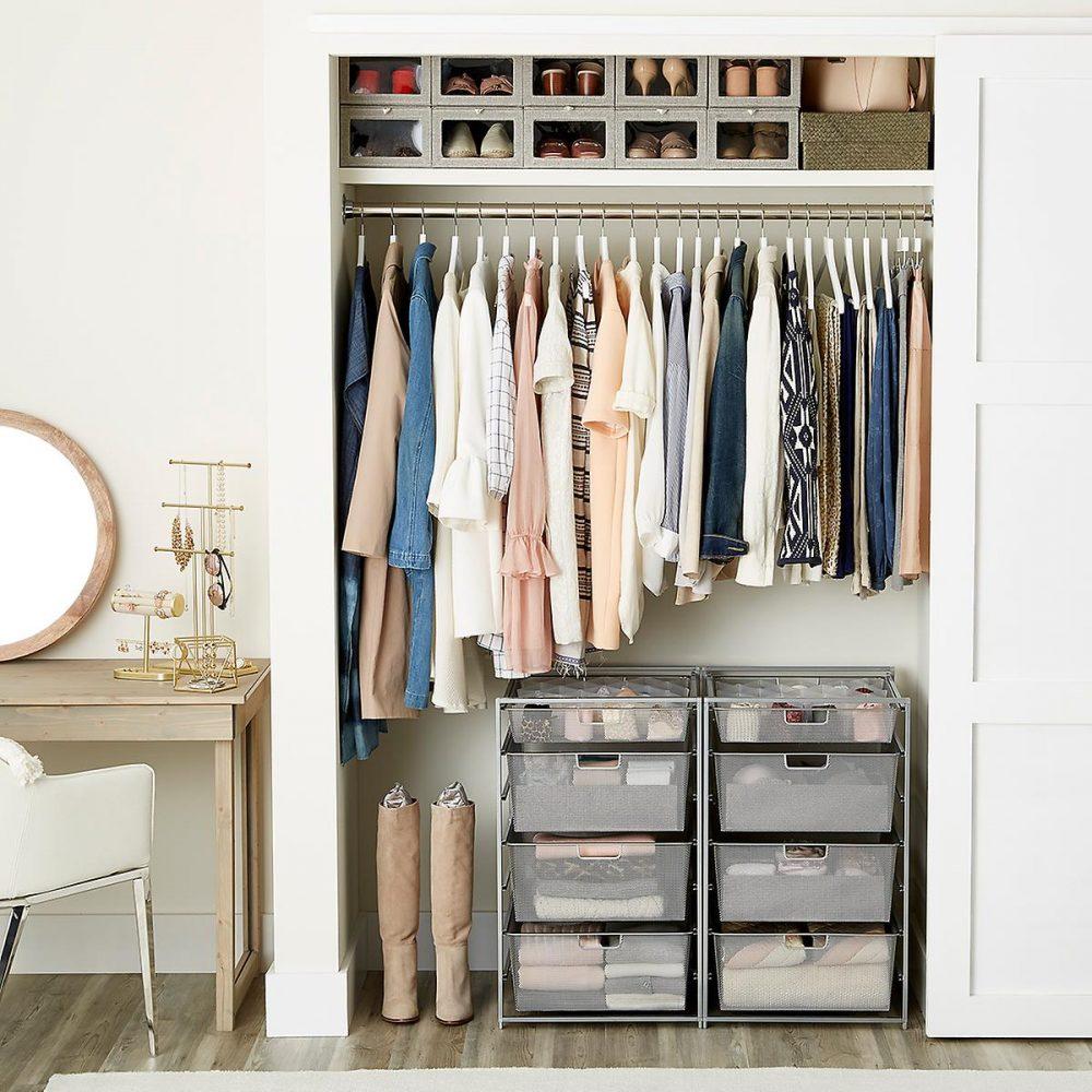8. Shoe organization | 10 Space-Saving Closet Hacks |