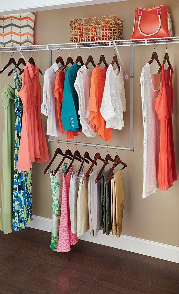 2. Maximize your closet space | 10 Space-Saving Closet Hacks