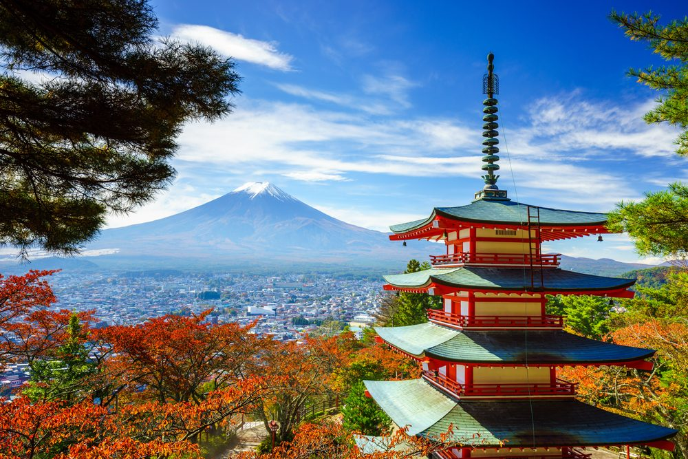 Mount Fuji, Japan | World's Best Places to Visit in the Fall | Life360 Tips