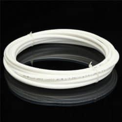 """1/4"""" White Plastic BPA-Free Tubing-0"""