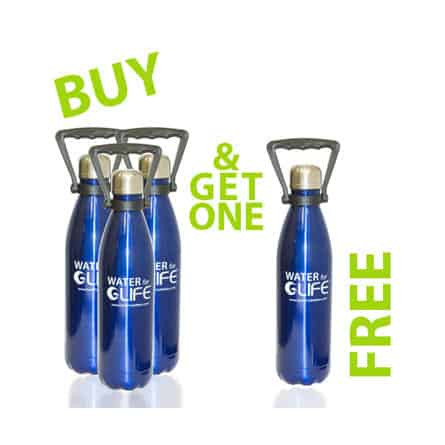 Stainless Steel Bottles Buy 3 Get 1 Free