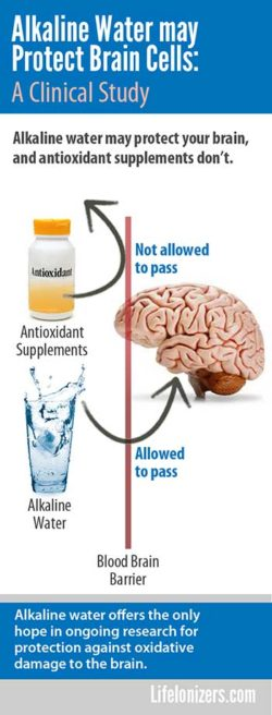 Alkaline Water Shown to Protect Brain Cells in Clinical study