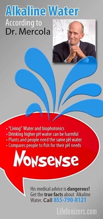 Dr. Mercola Structured Water & Other Pseudoscience