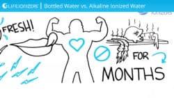 Alkaline Ionized Water vs Bottled Water