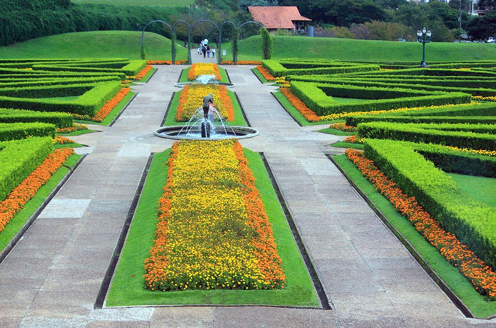 Botanical garden in Curitiba, Brazil