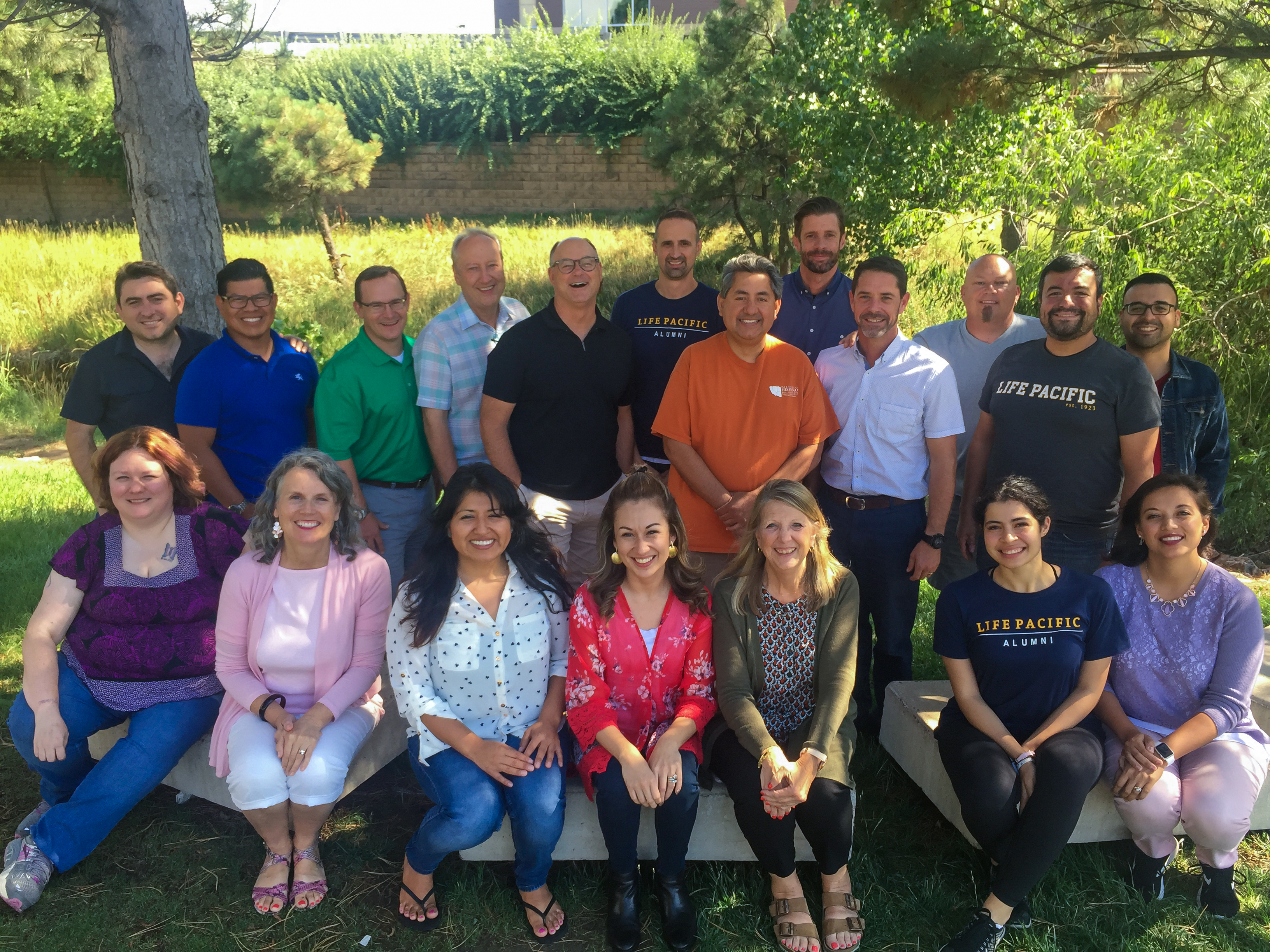Group shot of the students in the MASL Denver Cohort.