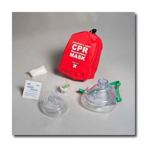 cac6d9840be7 Instructor Special  Adult   Child   Infant CPR Mask w  Soft Case ...