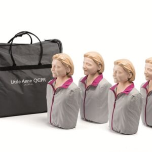 Q CPR Little Anne 4 Pack
