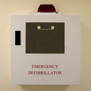 AED Strobe Cabinet